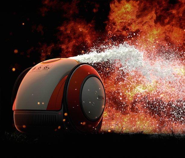 'Fireball Automatic Fire Extinguisher' una nueva y efectiva forma de apagar incendios