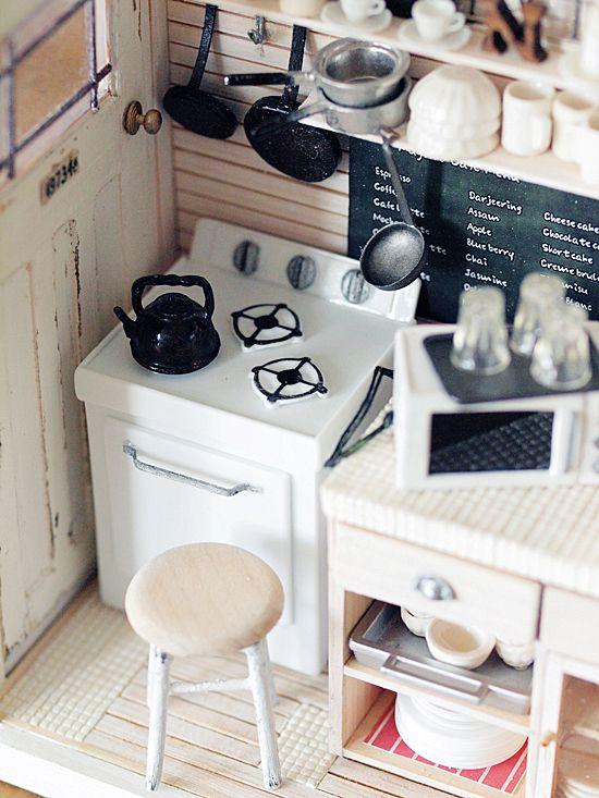 miniature* 家電 と、本日のネットショップ : natural色の生活~handmade家具