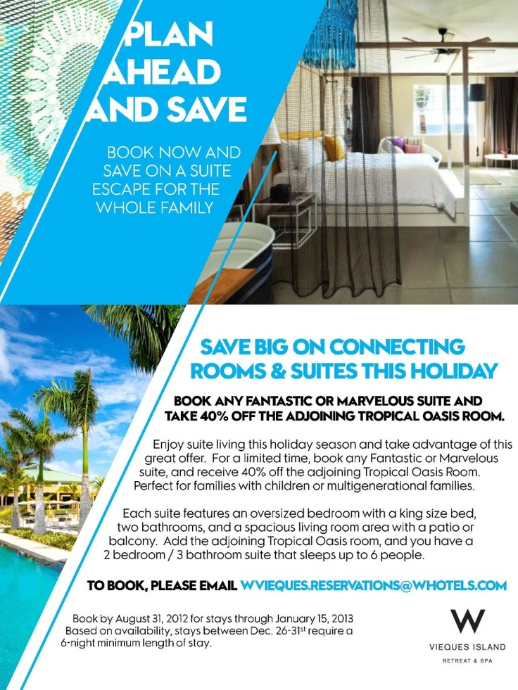 W Vieques Suite Offer Photo Plan Ahead And Save For Your Upcoming Travel This Was Uploaded By VIEQUES