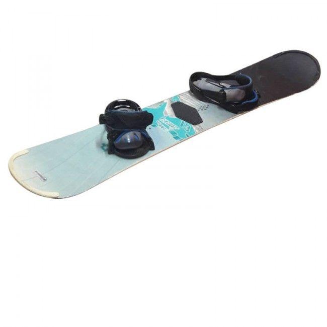 Tabla Snowboard + Fijaciones Burton - Deportes - Sensacional