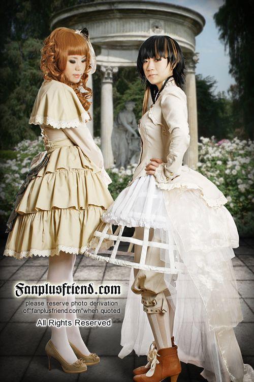 Steampunk Lolita                                                                                                                                                                                 Plus
