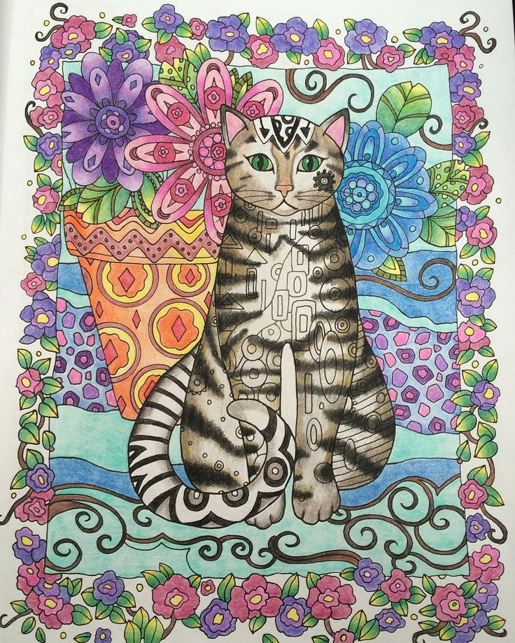 Creativehaven Creativecats Doverpublications Adultcoloring Crayon CraftsCat CraftsAdult ColoringColoring BooksWhimsical