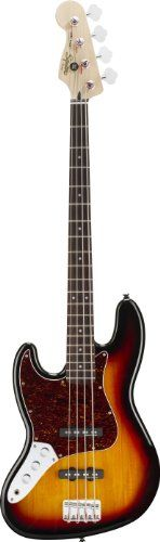Squier by Fender Vintage Modified Jazz Bass Left Handed, 3 Tone Sunburst - http://www.learntab.com/guitar-deals/squier-by-fender-vintage-modified-jazz-bass-left-handed-3-tone-sunburst-10/