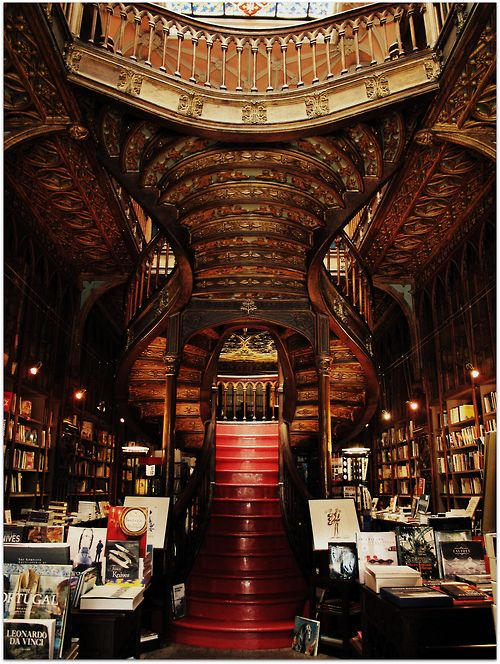 The Lello Bookstore, Porto                                                                                                                                                                                 More