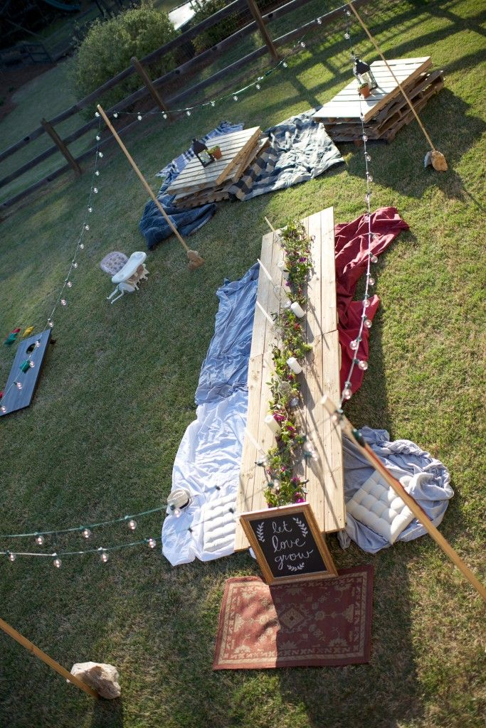 Bohemian Birthday Bash | The Southern Trunk>> love this idea
