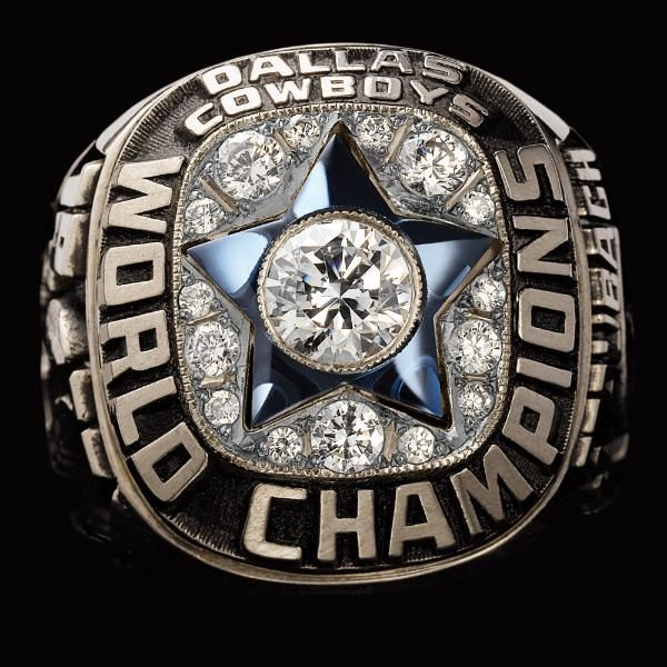 1971 Dallas Cowboys Super Bowl XII Championship Ring