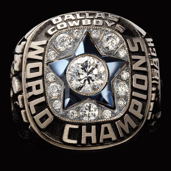 1971 Dallas Cowboys Super Bowl XII Championship Ring