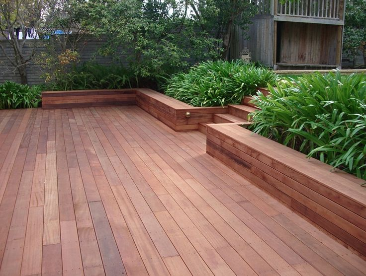 Deck flooring is such a clean finish #deck #wood