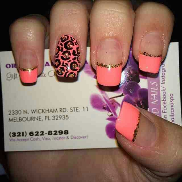 Interesting manicure idea