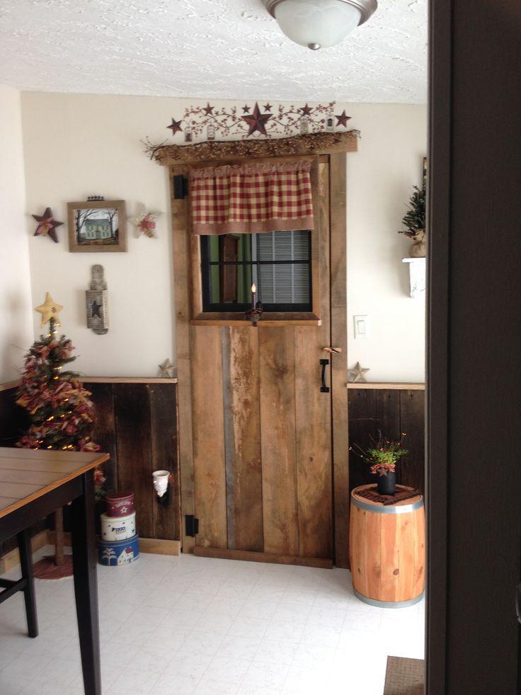 Vintage Cupboard Living Room