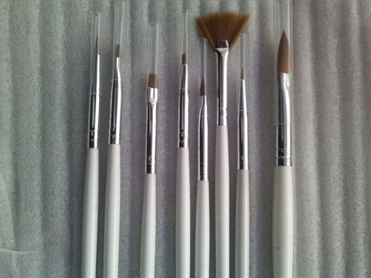 Dental Porcelain Ceramic Brush Kit,10Pcs/Kit,dental lab Clinic material enquipment