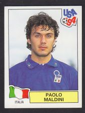 Image result for usa 94 panini stickers italy maldini