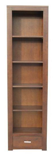 Solid Oak Bookcase / Narrow