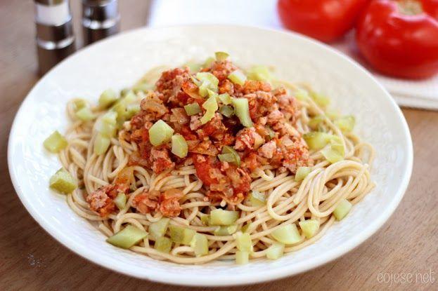 Spaghetti lżejsze o 50% | Zdrowe Przepisy Pauliny Styś