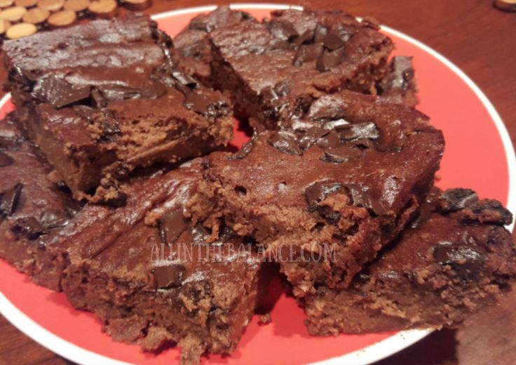 21 Day Fix Chickpea Brownies ( Gluten Free)