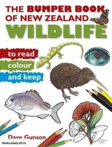 This wonderful bumper-size colouring-in book for children features simple black and white illustrations of wildlife from our present environment as well as the ...