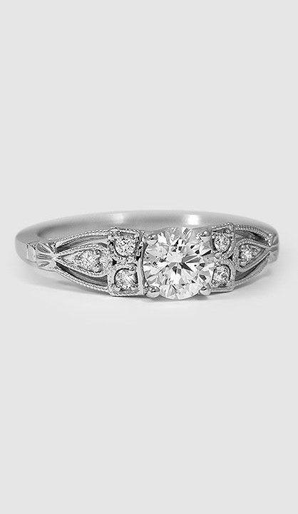 Rosabel Diamond Ring White Gold
