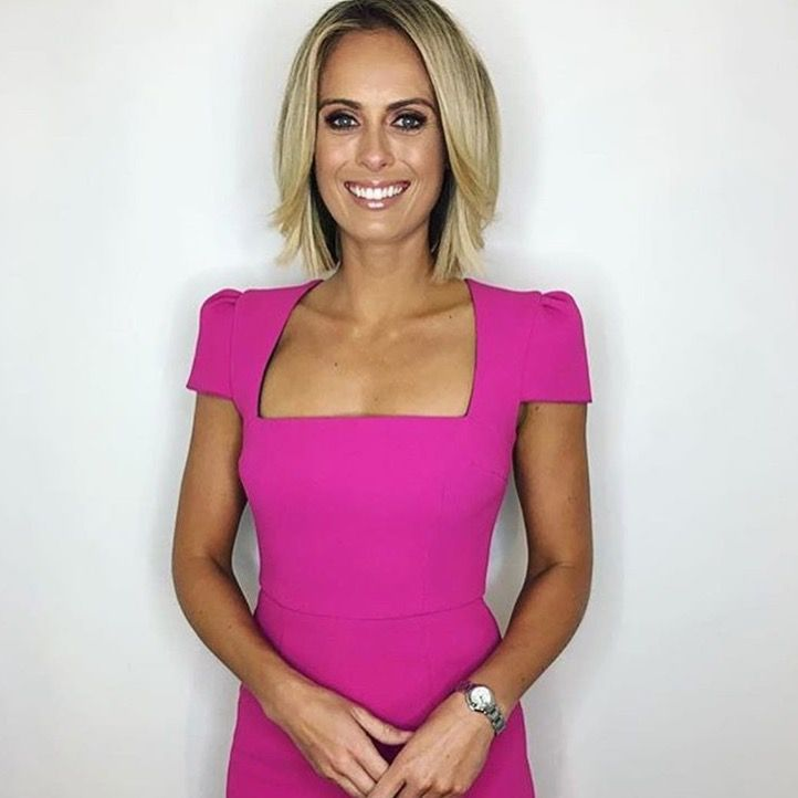 Sylvia Jeffreys - The today Show News Reporter - tanned by me