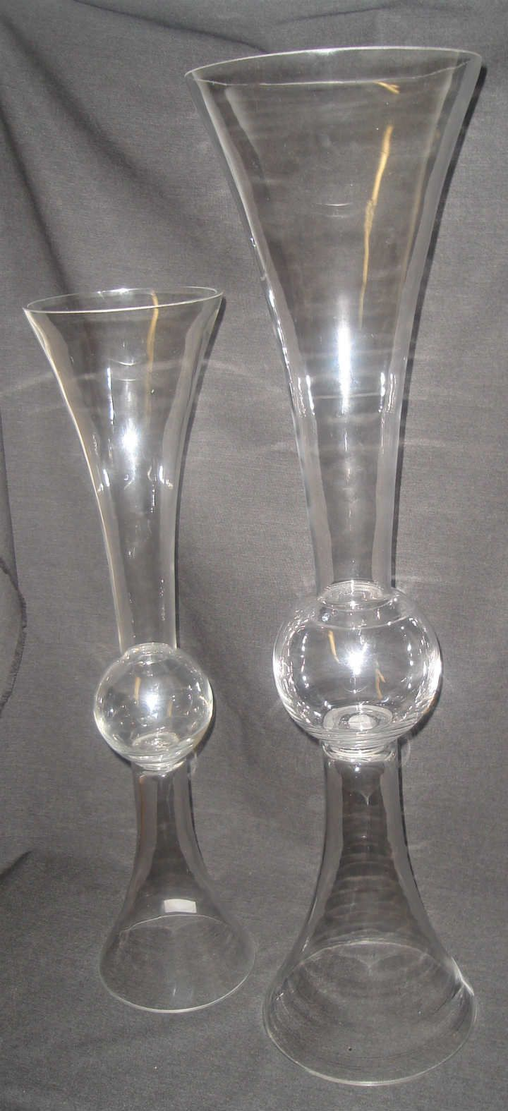 2 awesome trumpet vases wholesale bulk home idea reversible trumpet vase available in two sizes small at floridaeventfo Image collections