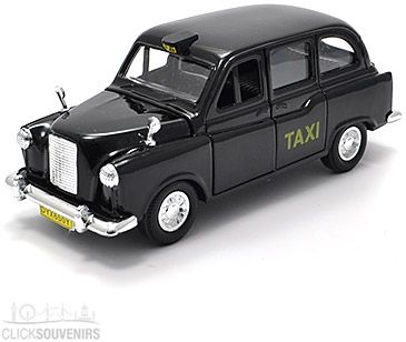 London Black Cab Pullback Taxi Model