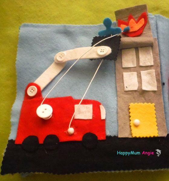 HappyMum Angie - Felt quiet book