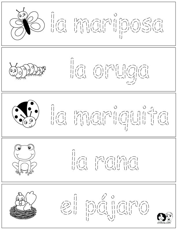 78 best images about spanish worksheets for children espa ol para ni os actividades on. Black Bedroom Furniture Sets. Home Design Ideas