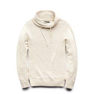 21 MENS Crisp Cowl Neck Sweater