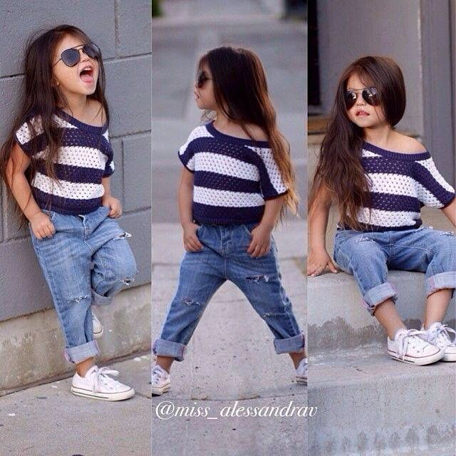 8f75051a2cd0 ... australia love this little girlsual outfitboyfriend jeansstriped top  and white converse kids fashion pinterest kids fashion
