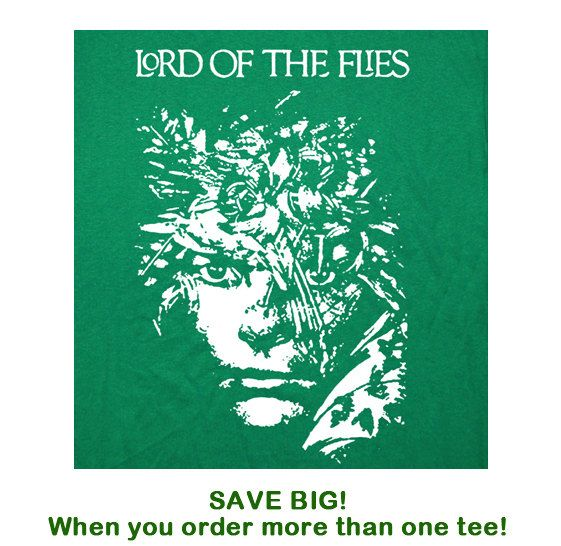 best book club party lord of the flies theme images on lord of the flies t shirt book rings novel reading writer t shirt from