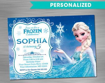 Items similar to PERSONALIZED Frozen Party Pack, Frozen Party Supplies, Disney Frozen Party, Frozen Birthday, Disney Birthday, Frozen Birthday Party, Frozen on Etsy