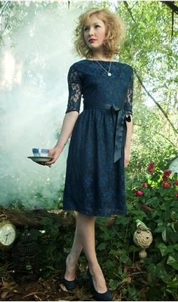 blue lace dress: Navy Lace Dresses, Style, Shabbyapple, Bridesmaid Dresses, I M Late, Blue Lace, Apples, Shabby Apple, Mad Hatter