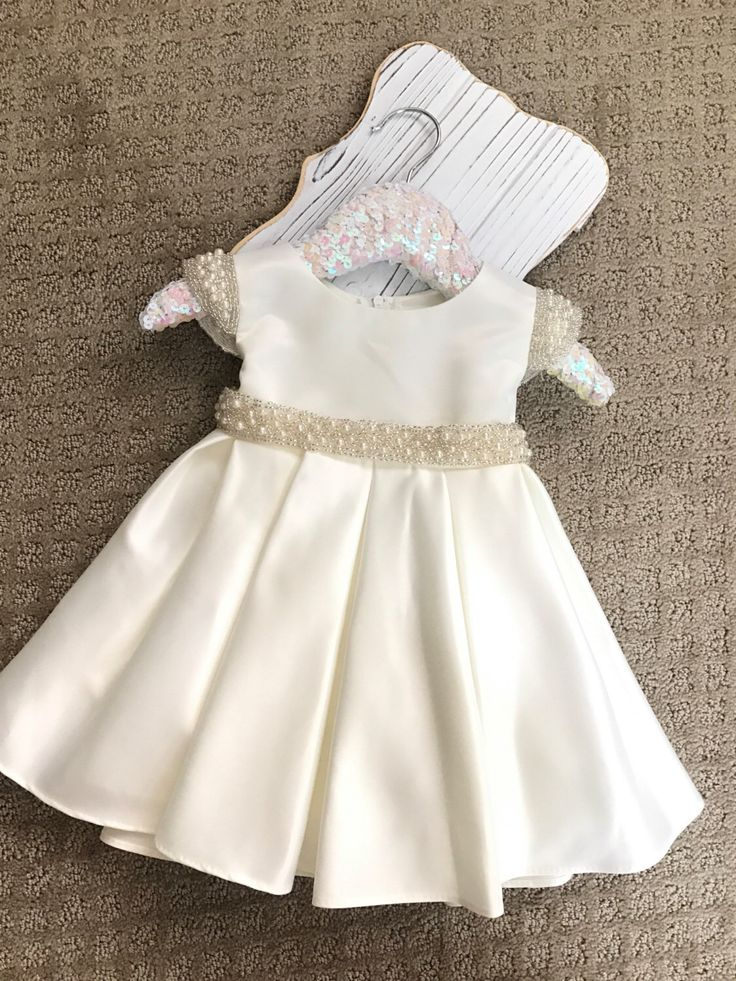 Vintage Flower Girl Dress White or Ivory Satin flower girl dress Christening Baptism Baby Dress white satin baby dress dedication ceremony by BabyGalore0 on Etsy https://www.etsy.com/uk/listing/485218749/vintage-flower-girl-dress-white-or-ivory