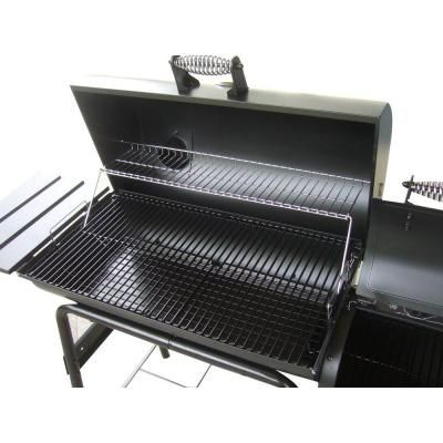 RiverGrille Cattleman 29 in. Charcoal Grill and Smoker-SC2210401-RG - The Home Depot