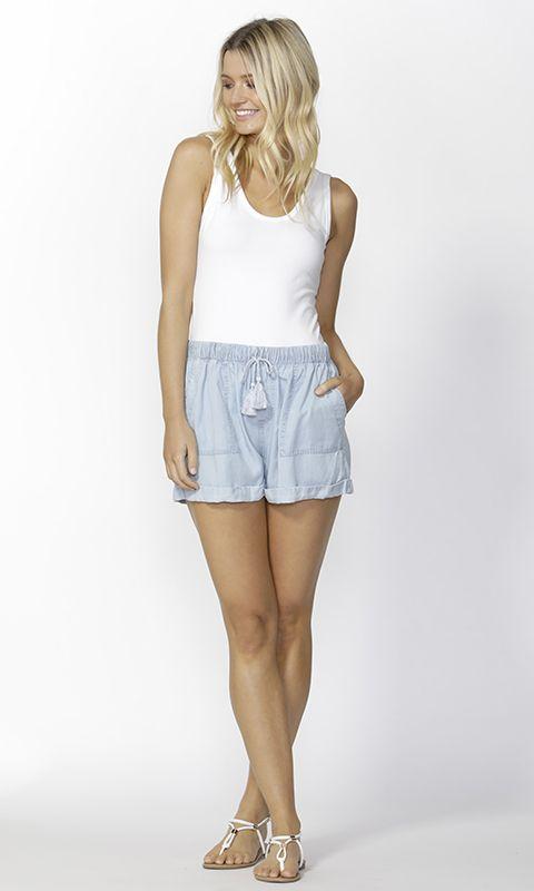 Sass - Arden Lyocell Shorts B