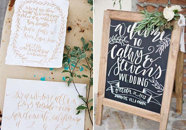 Calligraphy Inspiration  | Calligraphy Inspiration: Mon Voir - Oh So Beautiful Paper