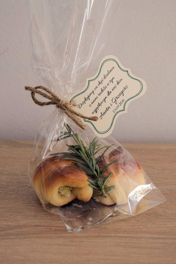 podziękowania dla gości z rozmarynem / gofts for guests with rosemary