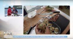 oeufs farcis  aux crevettes grises de fécamp