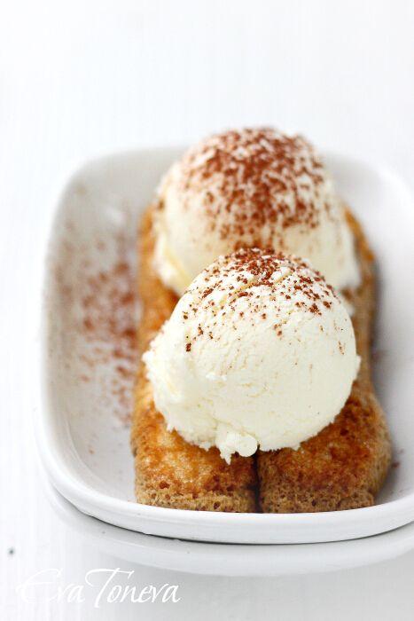 Mascarpone Ice Cream ♥ | S W E E T | T R E A T S | Pinterest