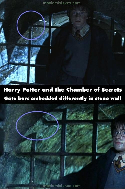 Movie Mistakes: Harry Potter and the Chamber of Secrets mistake picture
