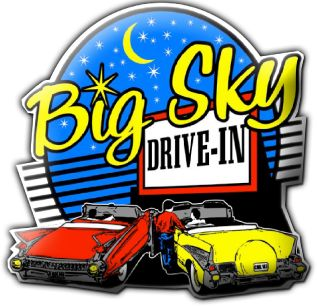 Done!! - Big Sky Drive-In Theater in Midland, TX July 4, 2013 :)