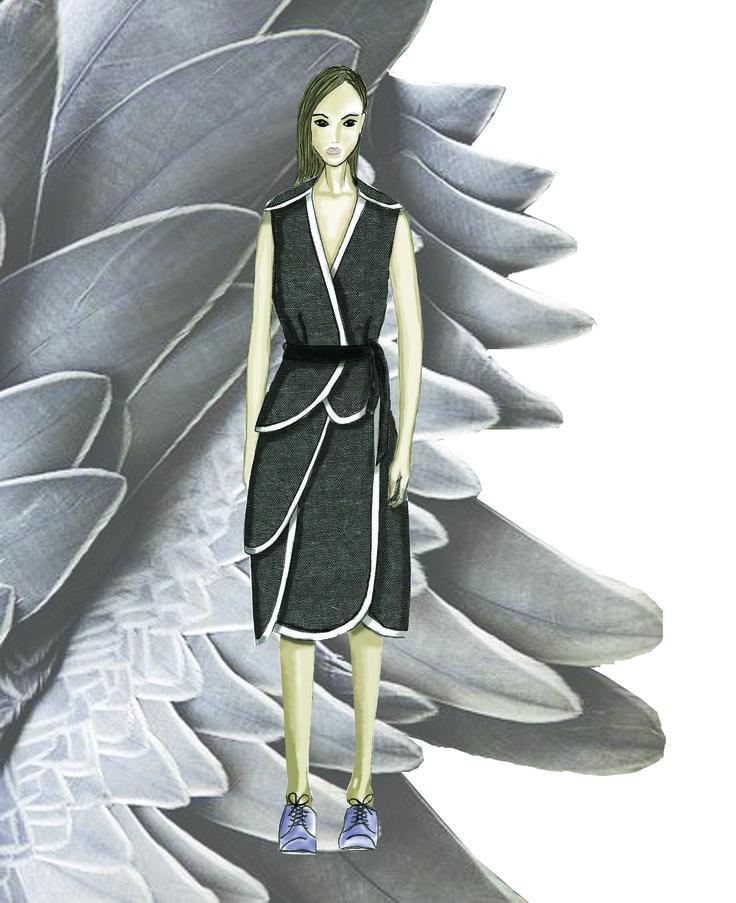 #mskpu, #fashionilustration, #MagdalenaPopiel