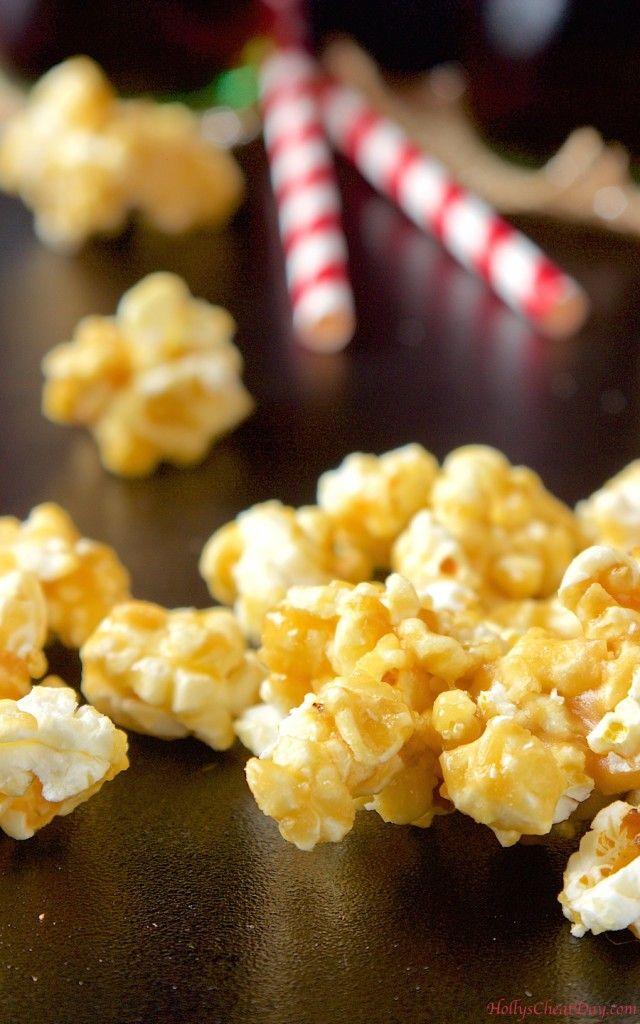 easy-caramel-popcorn|HollysCheatDay.com