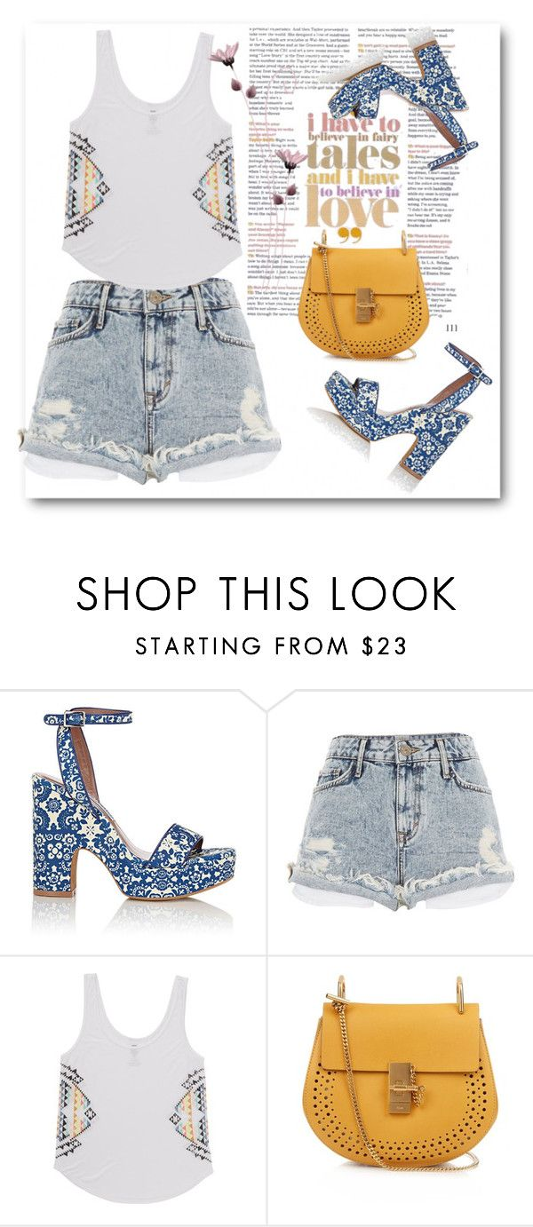 """""""Untitled #224"""" by jovana-p-com ❤ liked on Polyvore featuring Tabitha Simmons, River Island, Billabong and Chloé"""