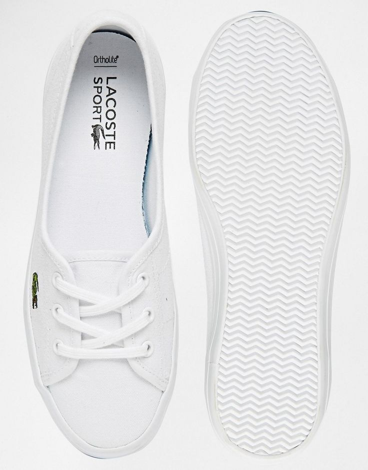 Image 3 of Lacoste Ziane White Sneakers