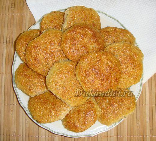 Творожно-овсяные печенюшки | Диета Дюкана