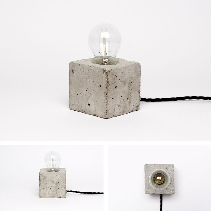 CONCRETE LAMPS - Kontrastform - Freelance Art Director Henrik Karlsson