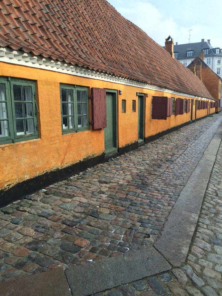 Colourful houses, copehagen