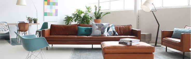Design 5 Bank Slimm Leer Outside | Loods 5 | Design | Jouw stijl in huis meubels & woonaccessoires