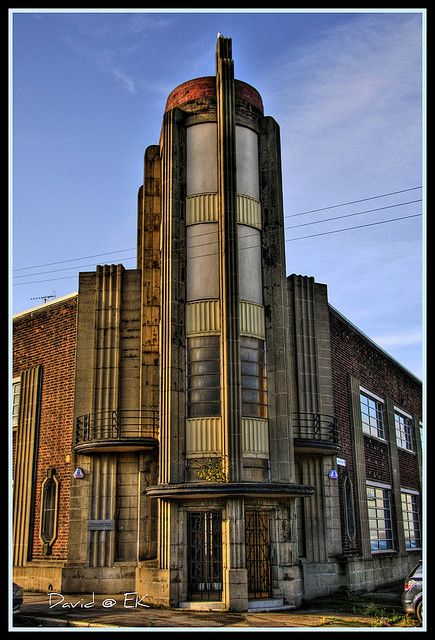 Former Strathclyde Police, Glasgow, beautiful art deco