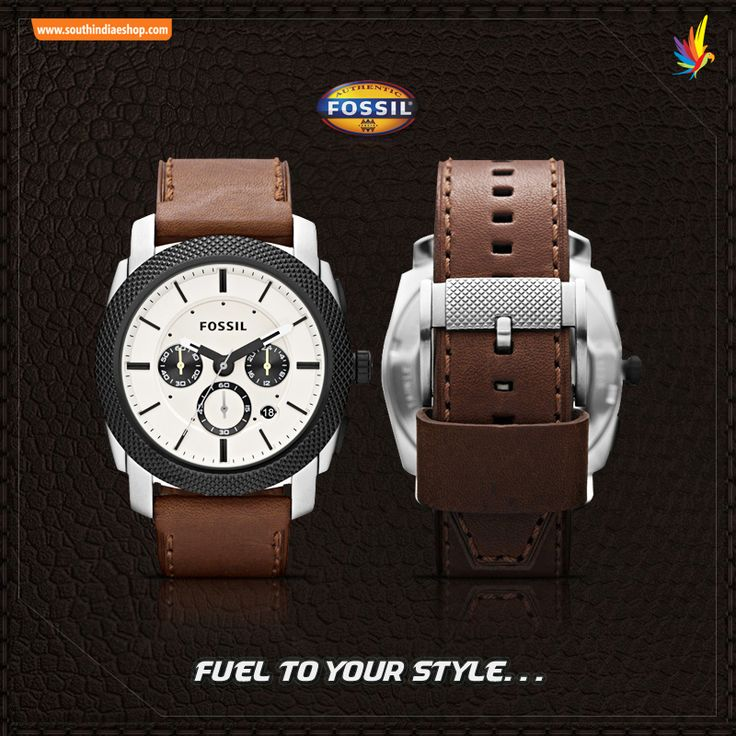 Make a BOLD #Style statement with this stuning #Fossil watch.  Grab the watch with great offer, All your favourite branded watches are available at your #South India Shopping mall. Visit your nearest #SISM store to see more collection! Visit : www.southindiaeshop.com